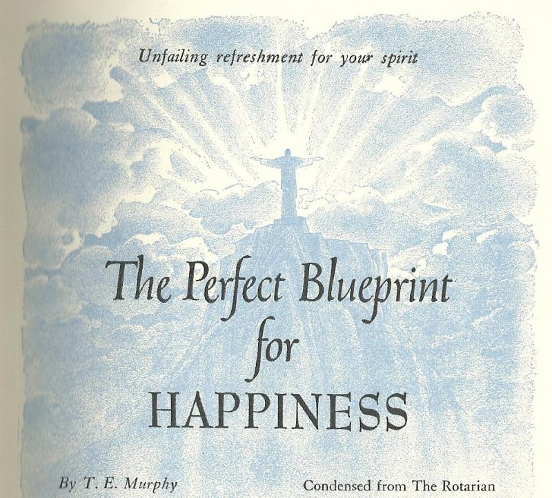 Blueprint for happiness